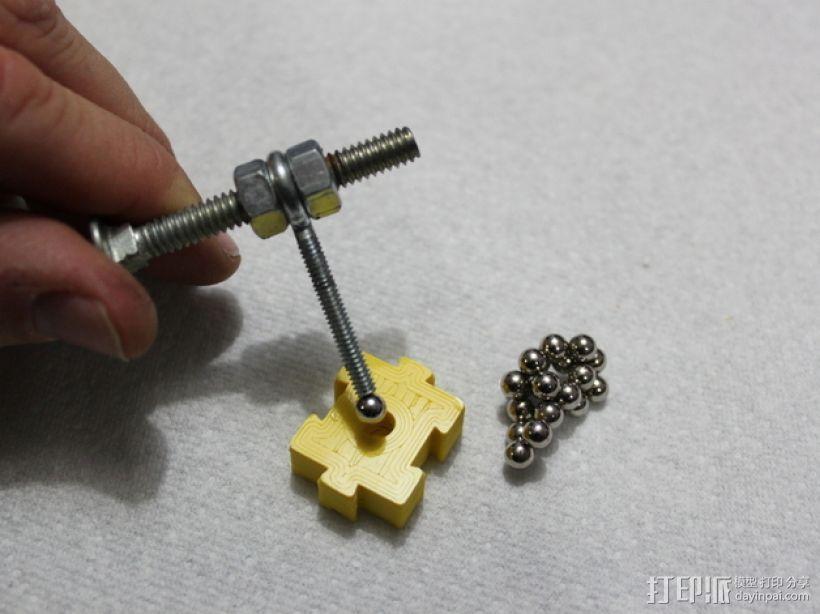 模块化磁力棋盘模型 3D模型  图6