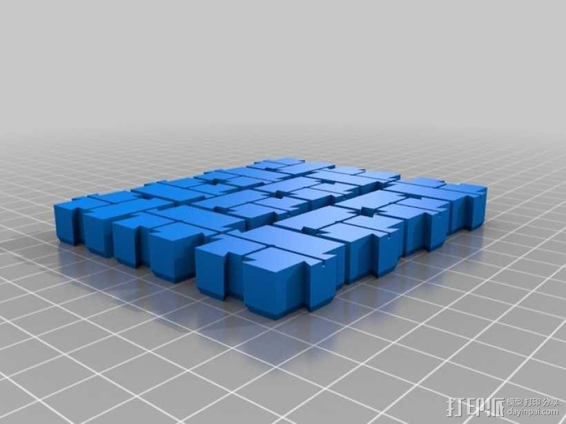 模块化磁力棋盘模型 3D模型  图13