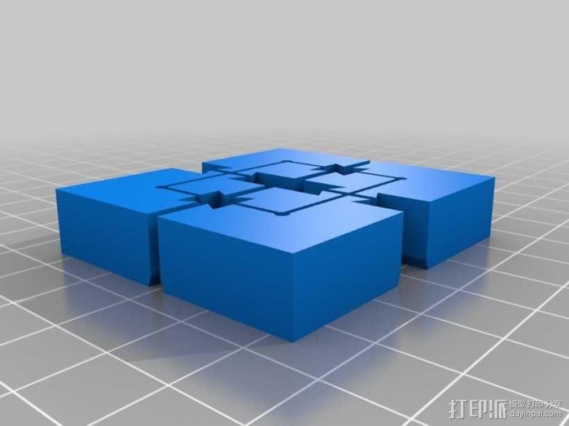 模块化磁力棋盘模型 3D模型  图12