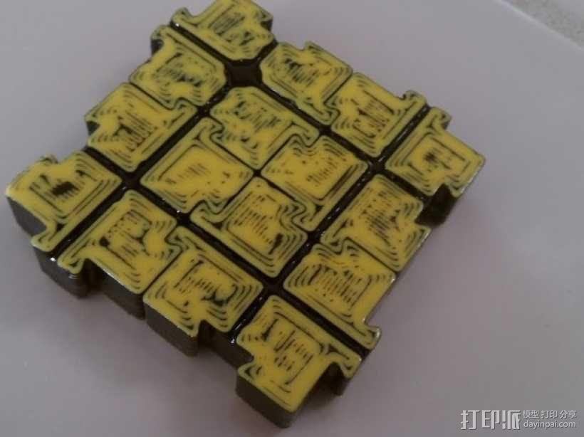 模块化磁力棋盘模型 3D模型  图18