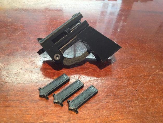 迷你飞镖发射器模型 3D模型  图2