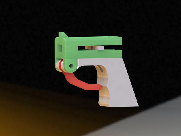迷你飞镖发射器模型 3D模型  图5