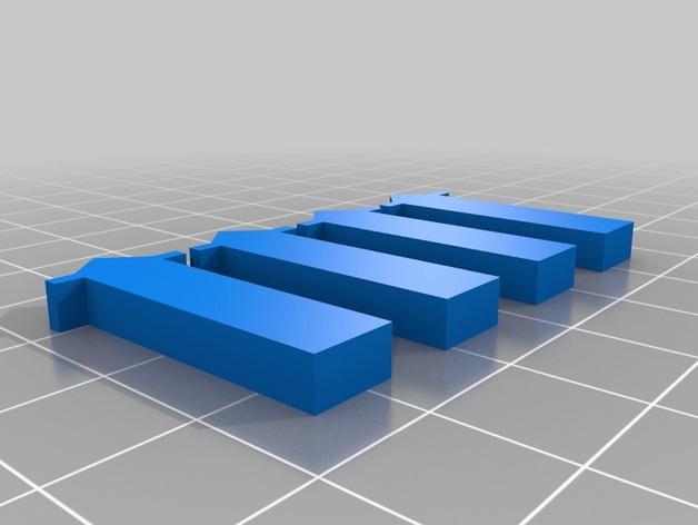 迷你飞镖发射器模型 3D模型  图6
