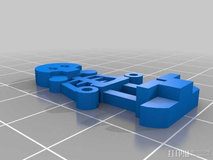 FlatMinis:骨架 3D模型  图3
