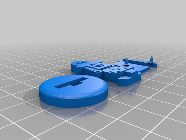 FlatMinis:城镇守卫队长 3D模型  图3