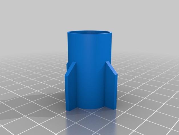 迷你火箭筒模型 3D模型  图2