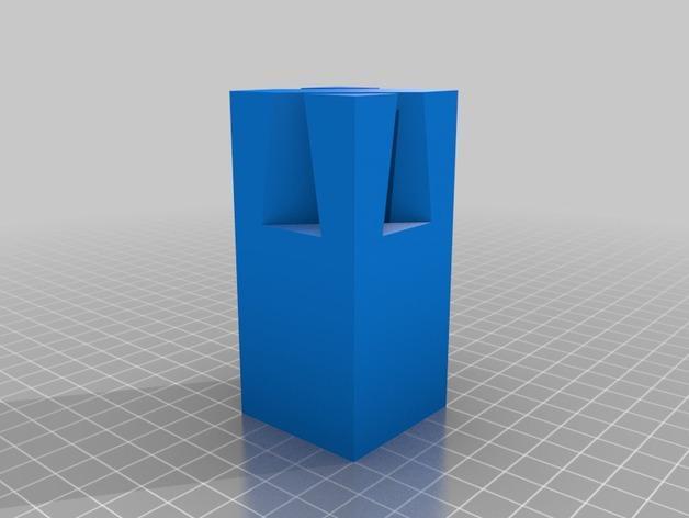 鸠尾榫立方体模型 3D模型  图3