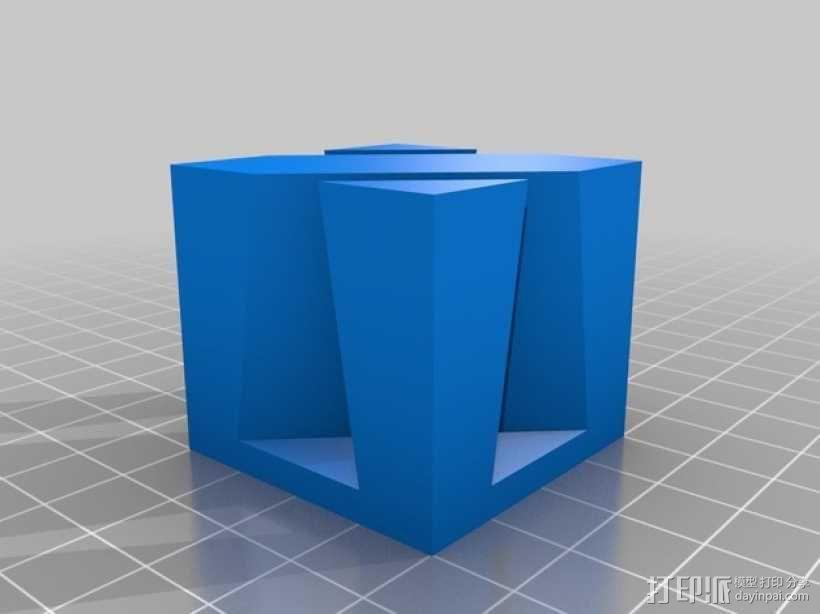鸠尾榫立方体模型 3D模型  图5
