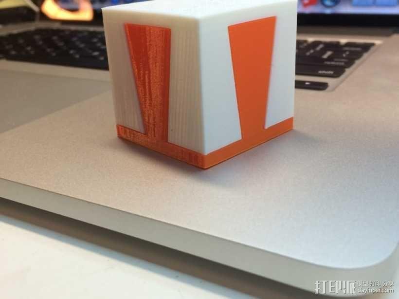 鸠尾榫立方体模型 3D模型  图4