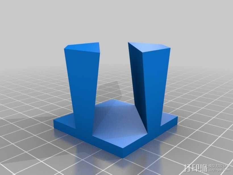 鸠尾榫立方体模型 3D模型  图6