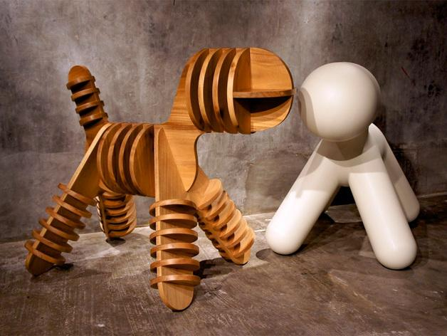 迷你小狗椅模型 3D模型  图5