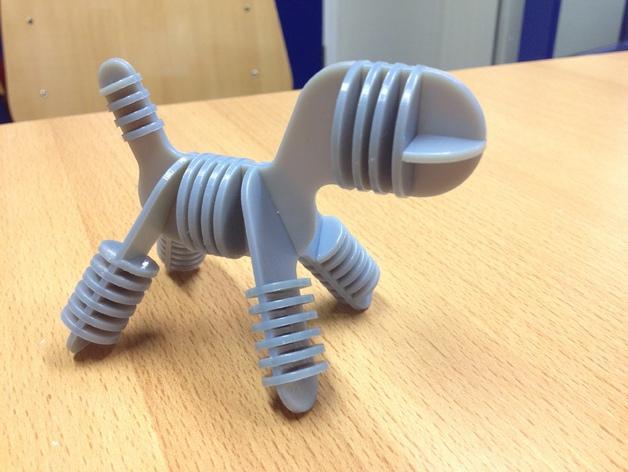 迷你小狗椅模型 3D模型  图2