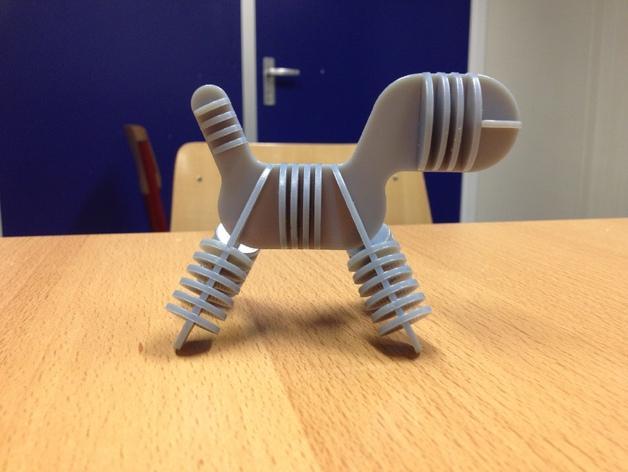 迷你小狗椅模型 3D模型  图3
