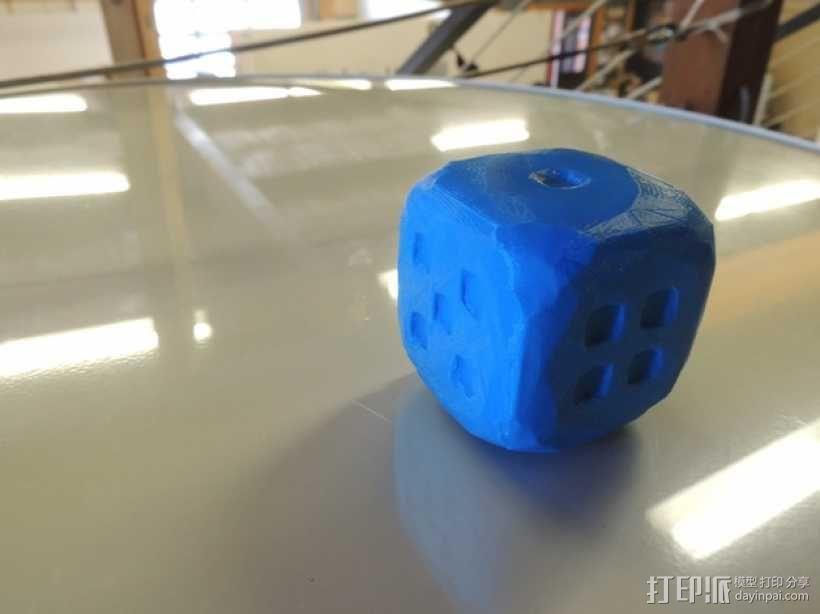 风格各异的六面体骰子模型 3D模型  图3