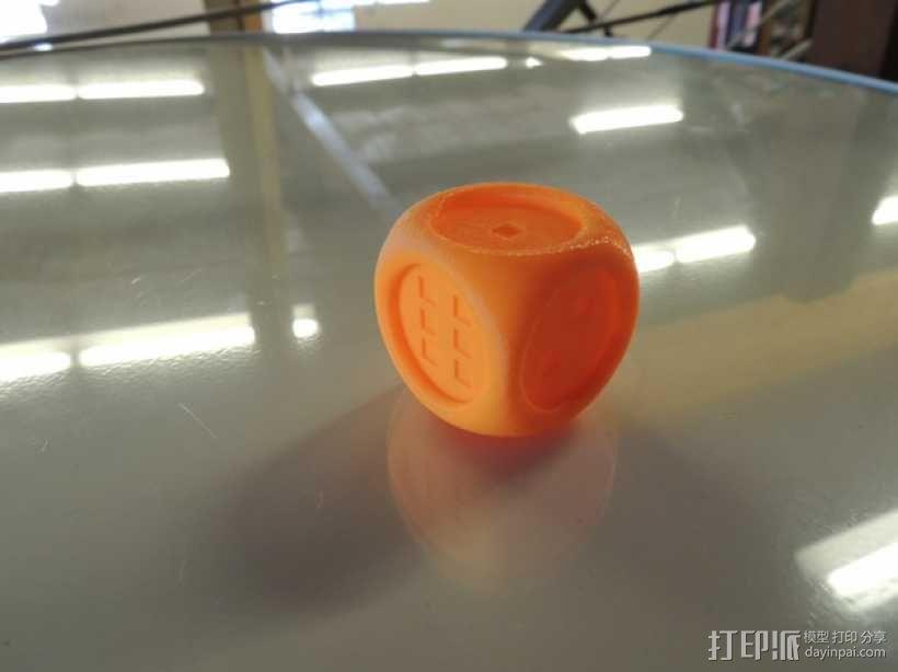 风格各异的六面体骰子模型 3D模型  图2