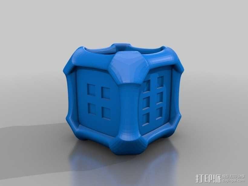 风格各异的六面体骰子模型 3D模型  图5