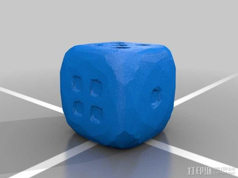 风格各异的六面体骰子模型 3D模型  图6