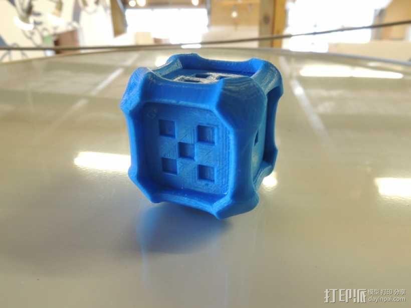 风格各异的六面体骰子模型 3D模型  图4