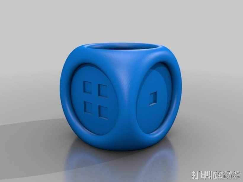 风格各异的六面体骰子模型 3D模型  图7