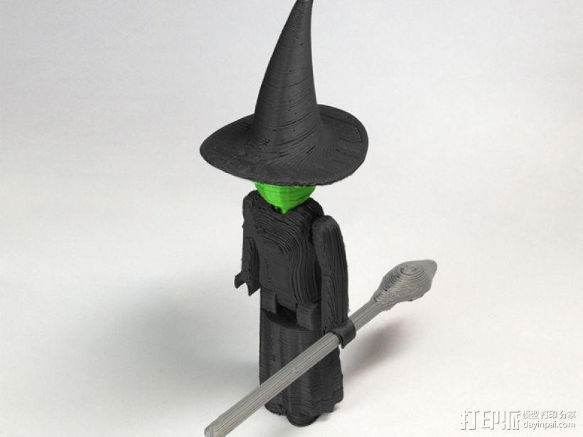 MakerBot巫师模型 3D模型  图1