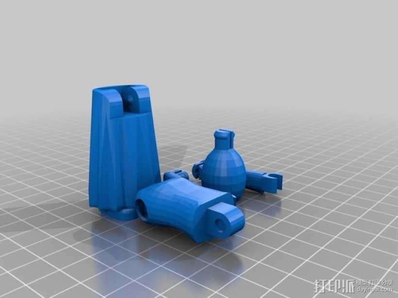 MakerBot巫师模型 3D模型  图3