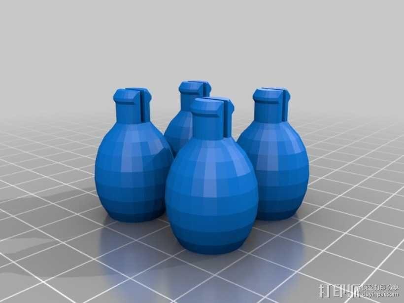 MakerBot巫师模型 3D模型  图4