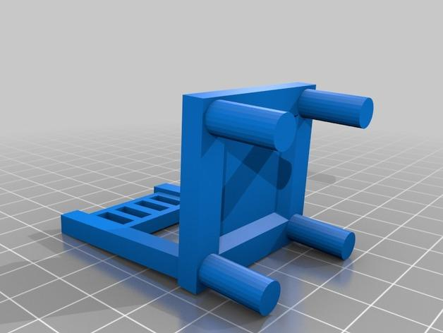 森林家族玩偶桌椅模型 3D模型  图2