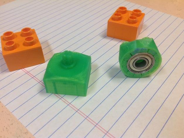 得宝玩具积木方块模型 3D模型  图1