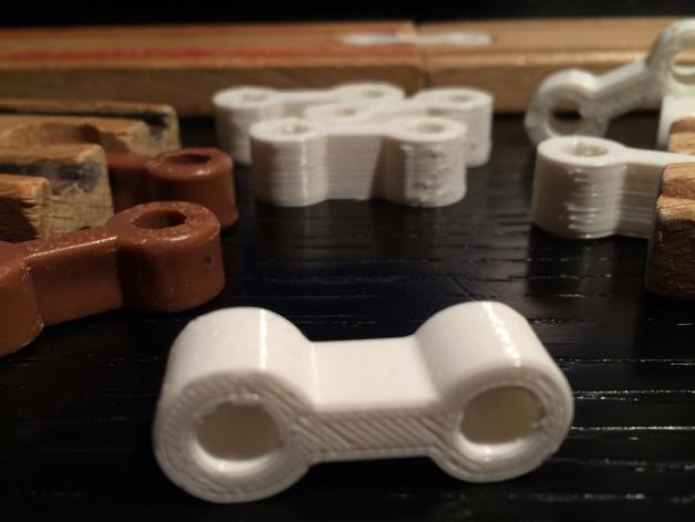 得宝玩具火车连接器模型 3D模型  图5