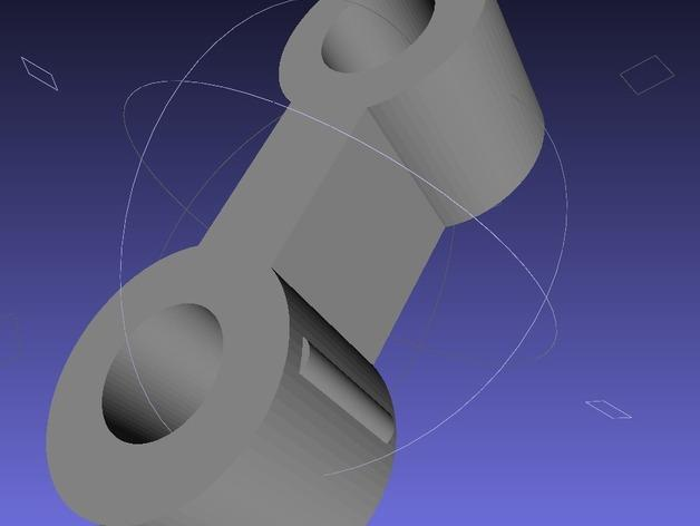 得宝玩具火车连接器模型 3D模型  图4