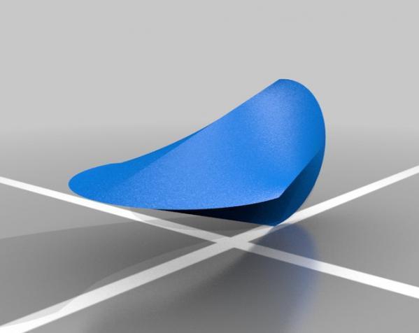 迷你摇晃椅模型 3D模型  图2