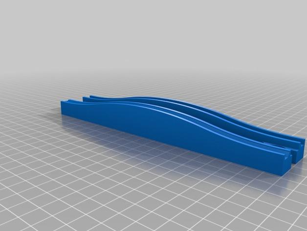 玩具火车桥模型 3D模型  图3