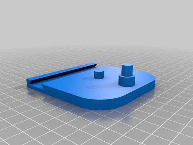急回运动机构模型 3D模型  图3
