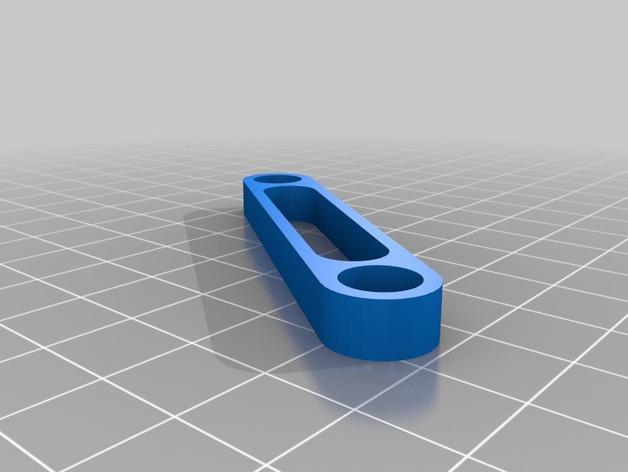 急回运动机构模型 3D模型  图2