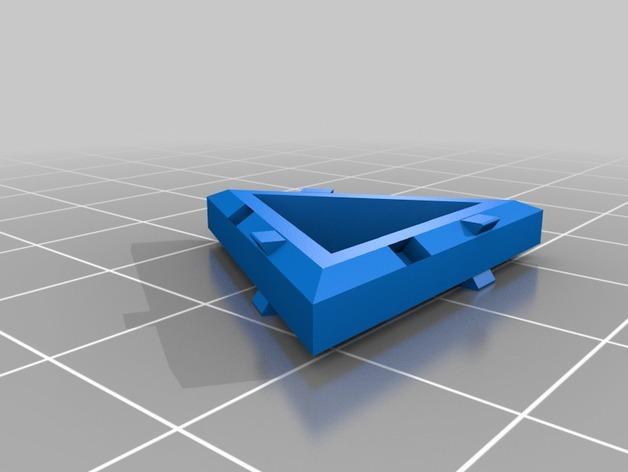 四面体积木模型 3D模型  图4