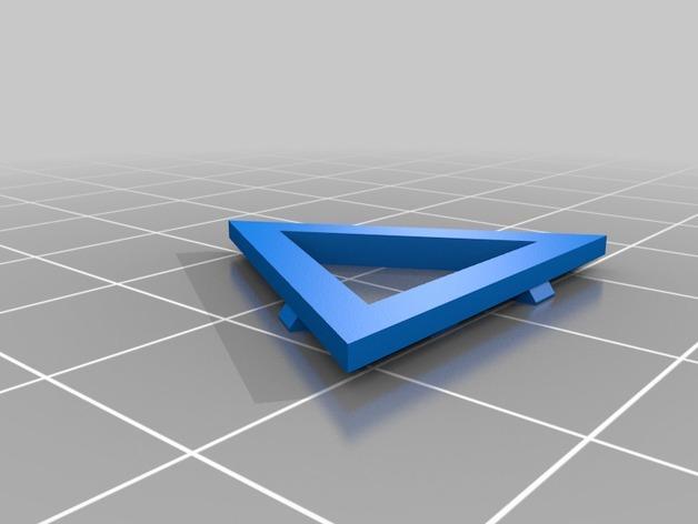 四面体积木模型 3D模型  图5