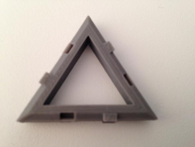 四面体积木模型 3D模型  图6