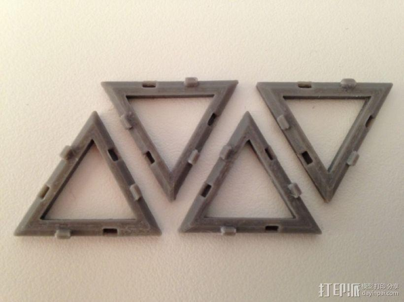 四面体积木模型 3D模型  图7