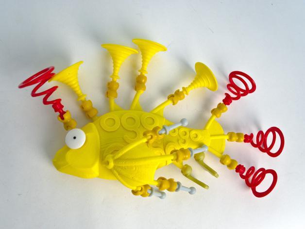 Ogo迷你金鱼模型 3D模型  图4