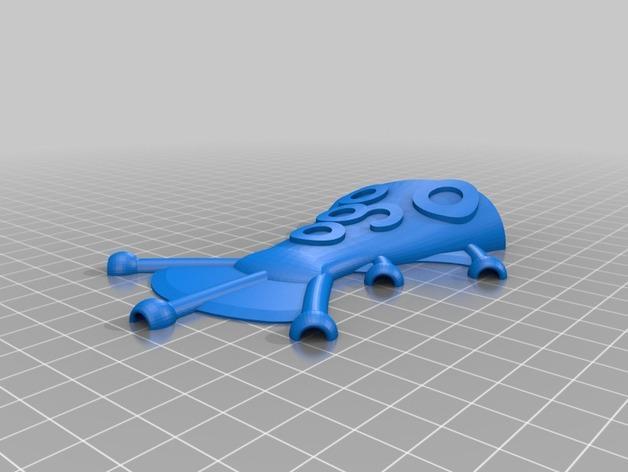 Ogo迷你金鱼模型 3D模型  图9