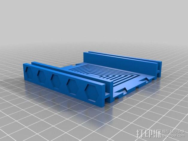 战争游戏基地模型V2 3D模型  图4