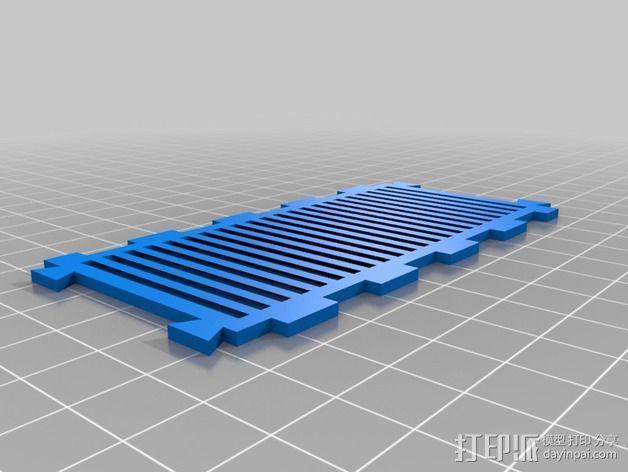 战争游戏基地模型V2 3D模型  图2
