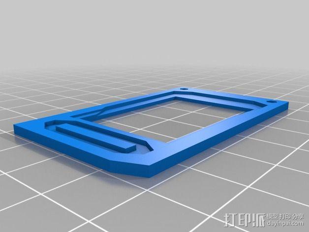 战争游戏基地模型V2 3D模型  图3