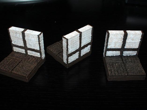 OpenForge都铎王朝墙砖模型 3D模型  图3