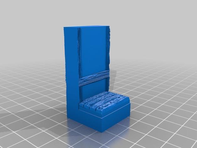 OpenForge都铎王朝墙砖模型 3D模型  图4