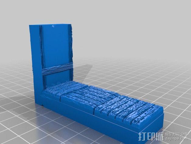 OpenForge都铎王朝墙砖模型 3D模型  图6