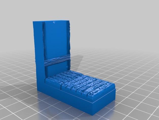 OpenForge都铎王朝墙砖模型 3D模型  图5