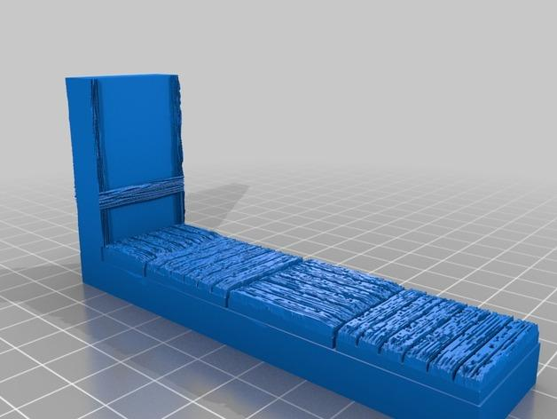 OpenForge都铎王朝墙砖模型 3D模型  图7