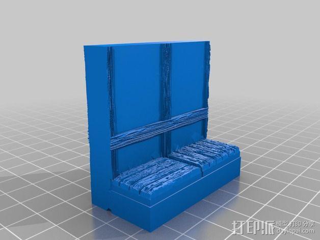 OpenForge都铎王朝墙砖模型 3D模型  图8