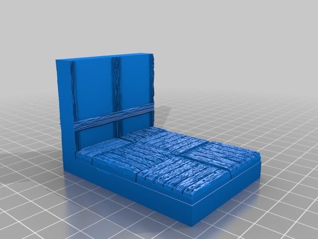 OpenForge都铎王朝墙砖模型 3D模型  图10